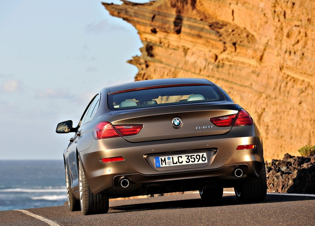 2013 BMW 6 Series Gran Coupe Rear (Photo 11 of 19)