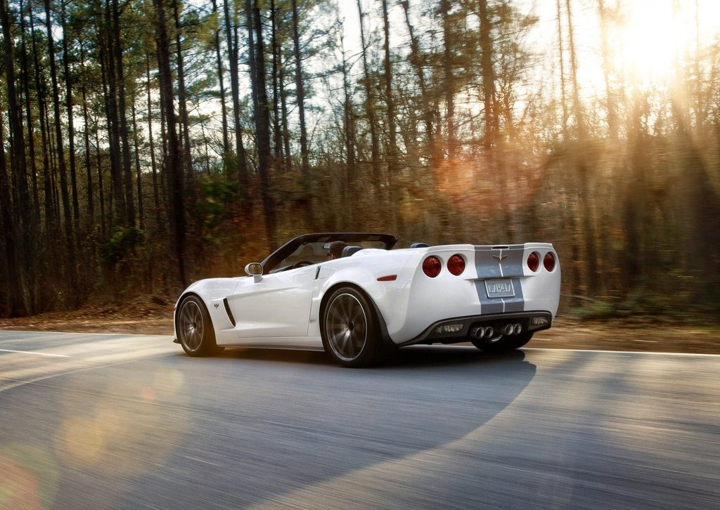 2013 Chevrolet Corvette 427 Convertible Rear Angle (Photo 5 of 6)