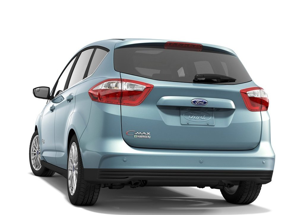 2013 Ford C MAX Energi Rear Angle (View 3 of 5)