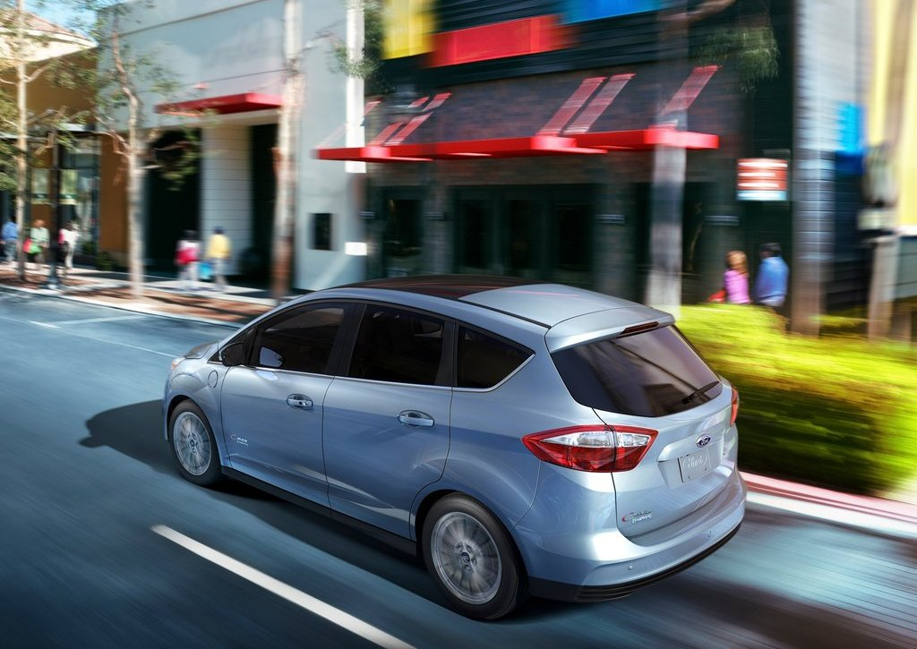 2013 Ford C MAX Energi Rear (Photo 3 of 5)