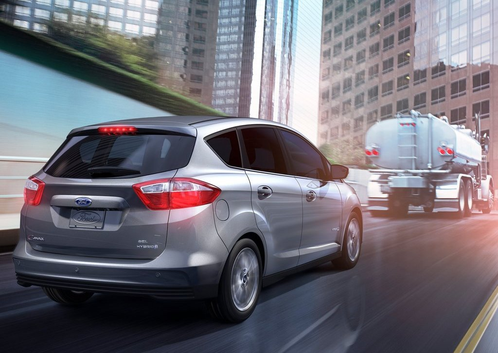 2013 Ford C MAX Hybrid Rear (View 3 of 6)