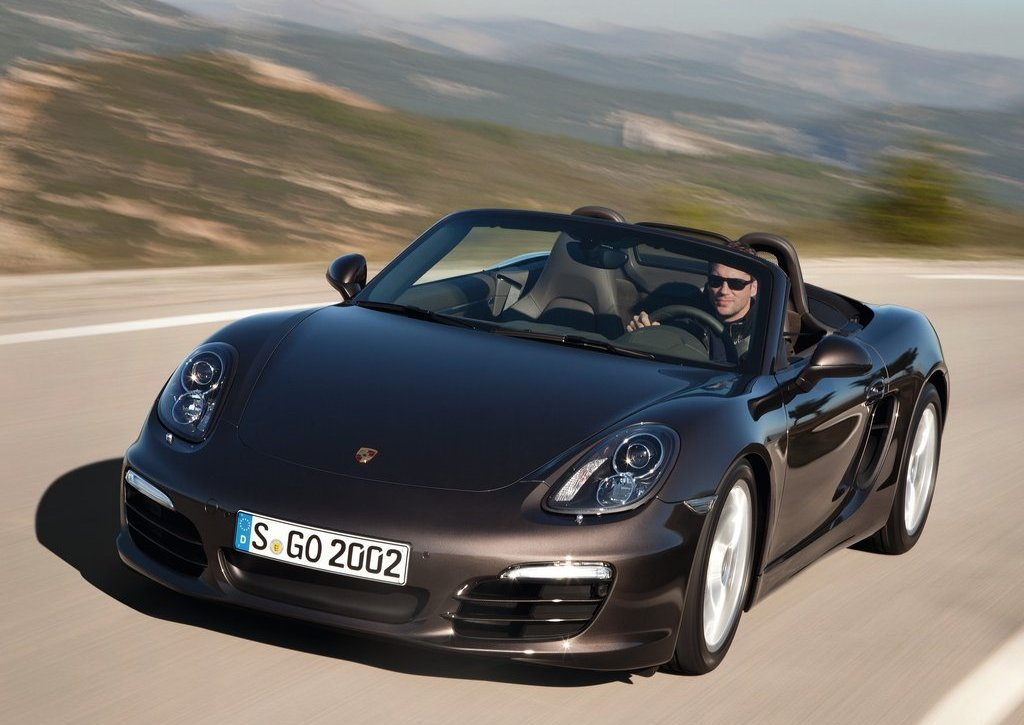 2013 Porsche Boxster Front Angle (Photo 3 of 7)