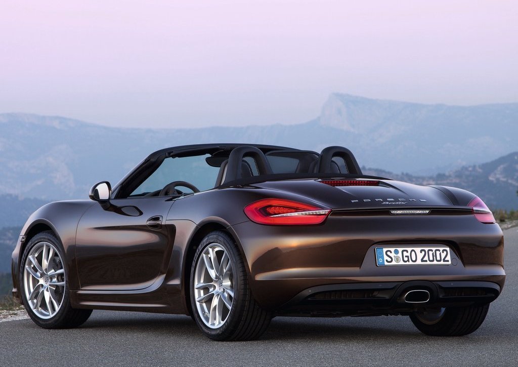 2013 Porsche Boxster Rear (Photo 5 of 7)
