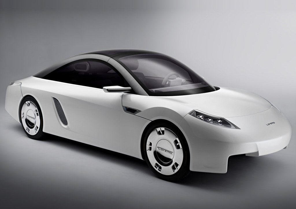 2006 Loremo LS Concept Front Angle (Photo 6 of 12)