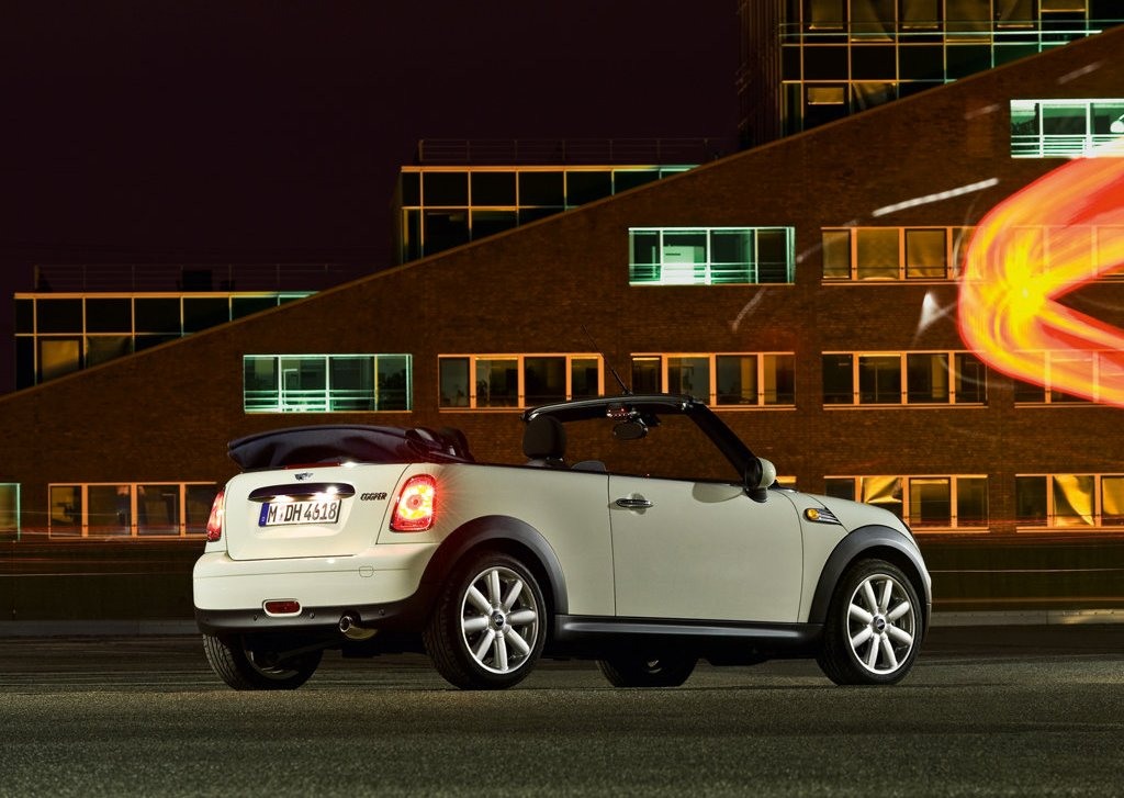 2009 Mini Cooper Convertible Rear Angle  (Photo 9 of 15)