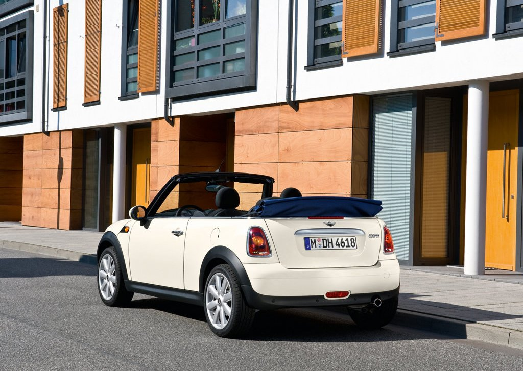 2009 Mini Cooper Convertible Rear (View 12 of 15)