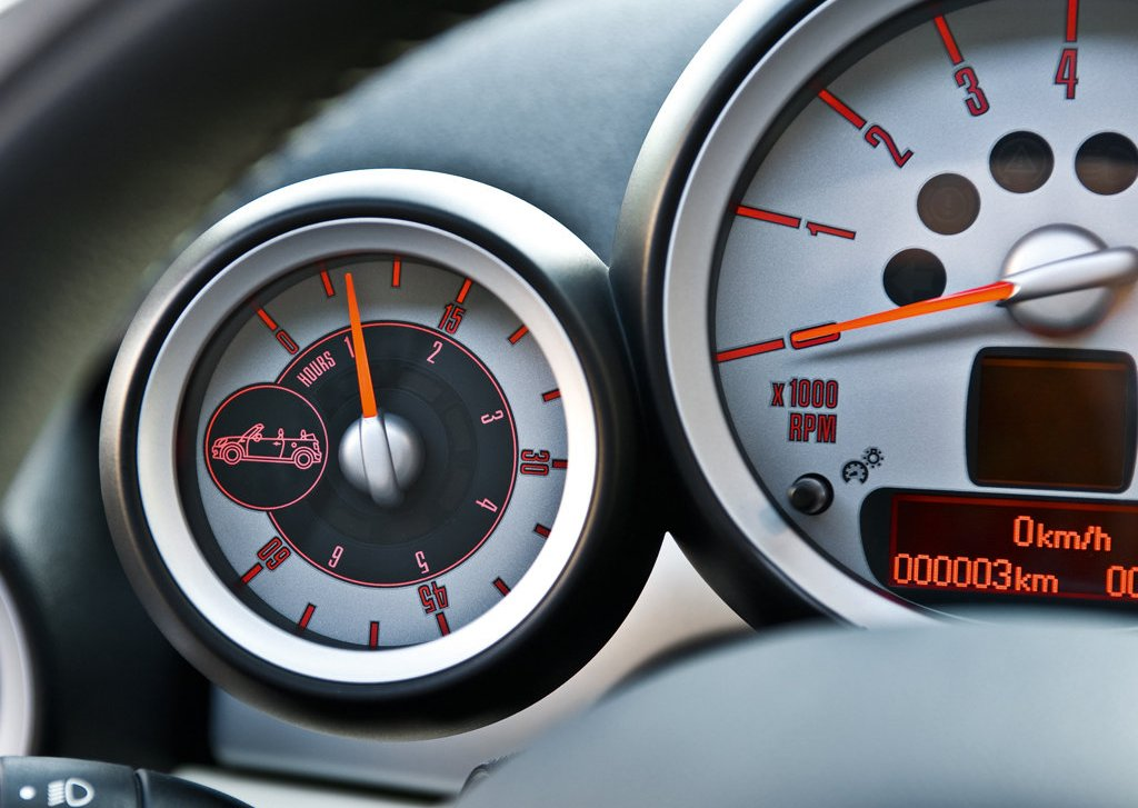 2009 Mini Cooper Convertible Speedometer (Photo 14 of 15)