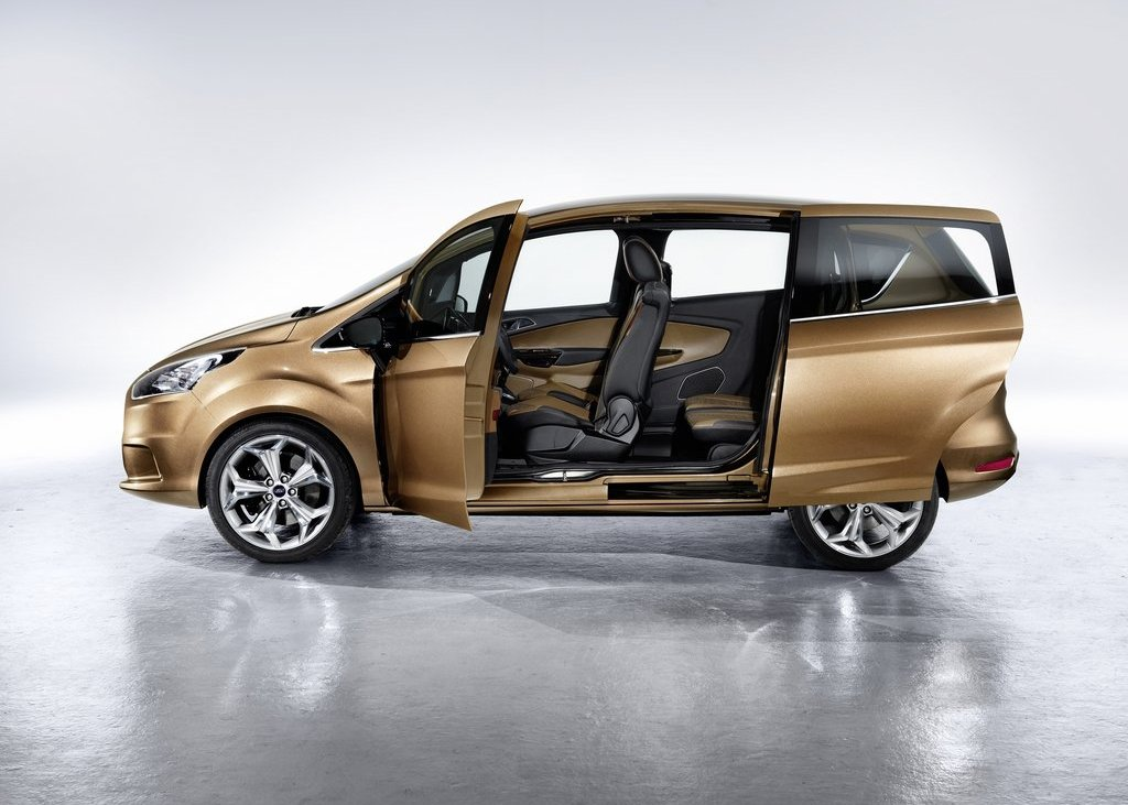 2011 Ford B MAX Side (View 10 of 15)