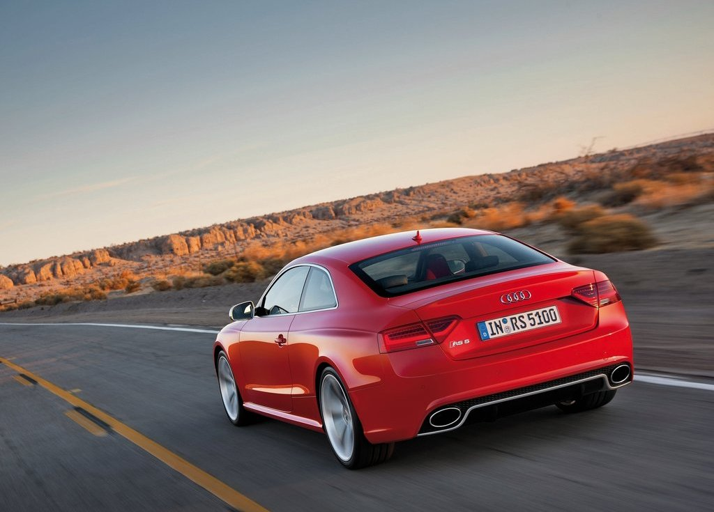 2012 Audi RS5 Rear (View 12 of 21)