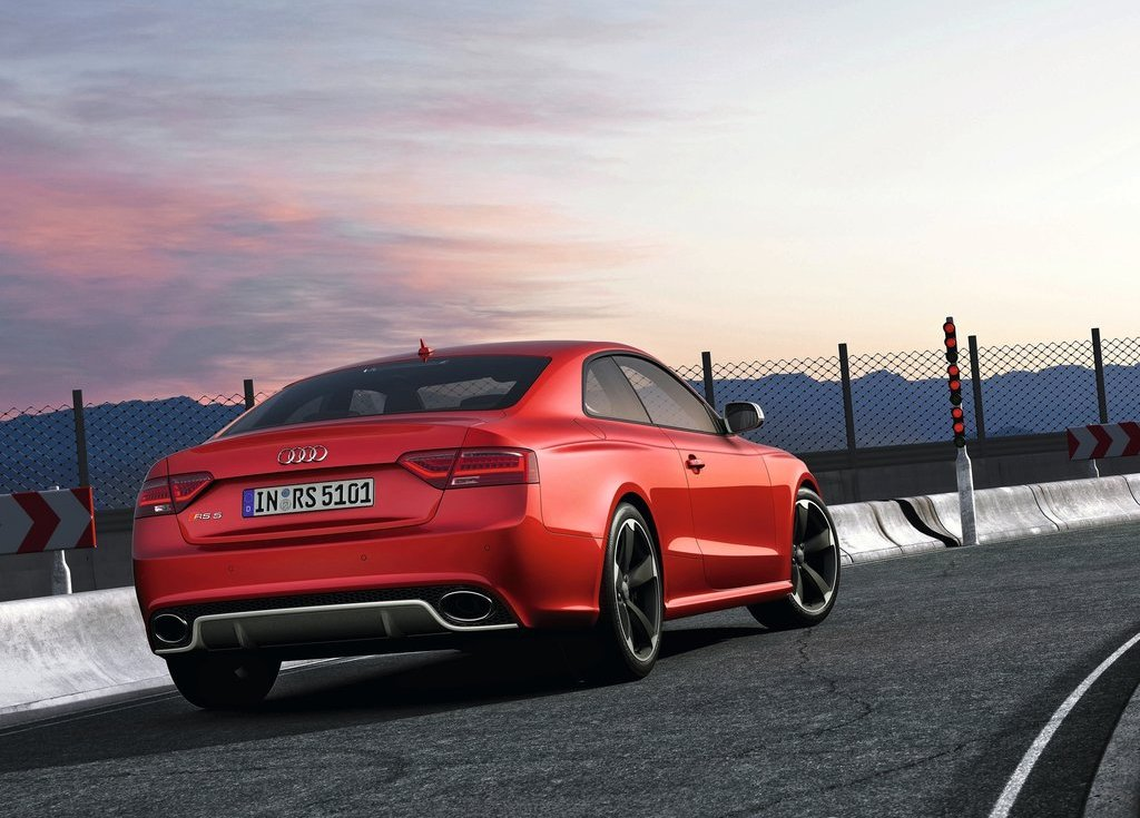 2012 Audi RS5 Rear (View 13 of 21)