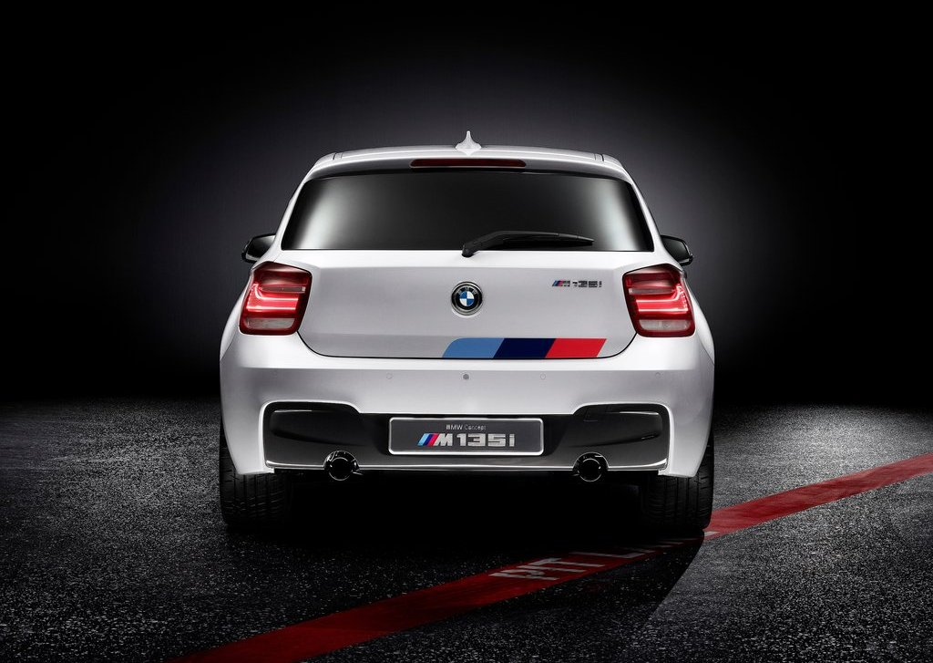 2012 BMW M135i Concept Rear (Photo 5 of 7)