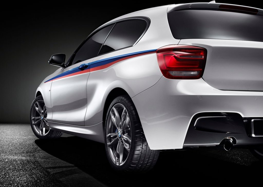 2012 BMW M135i Concept Rear (Photo 3 of 7)