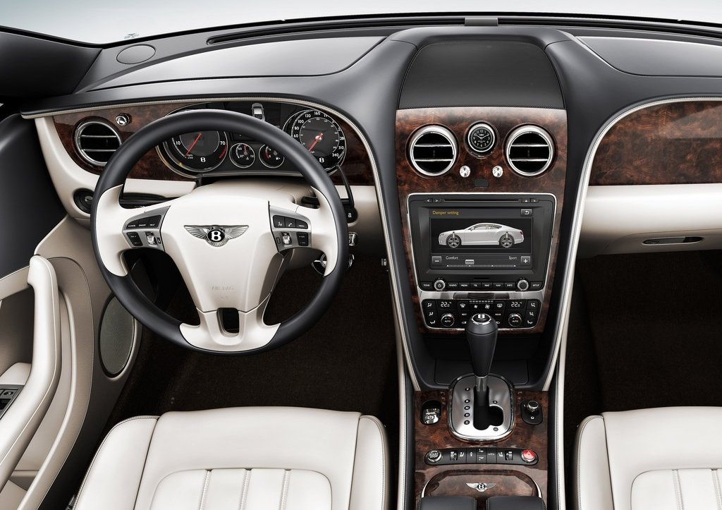 2012 Bentley Continental GT Interior  (Photo 18 of 32)