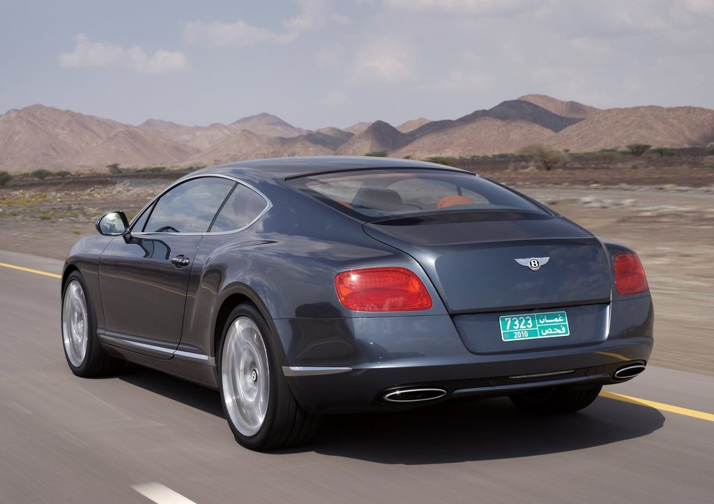 2012 Bentley Continental GT Rear  (Photo 21 of 32)