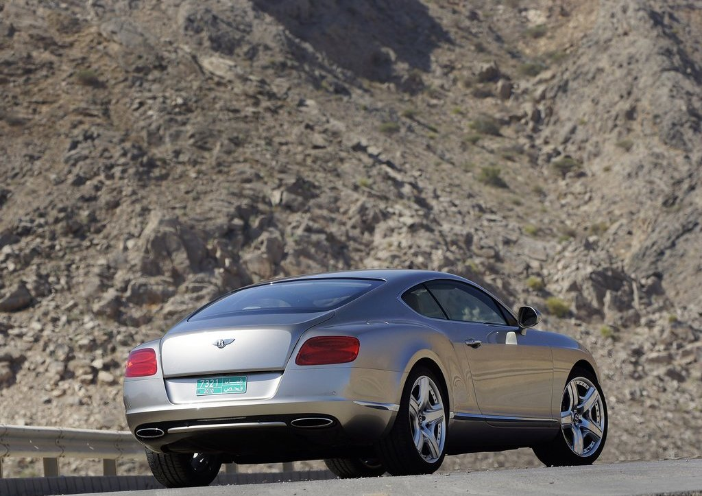 2012 Bentley Continental GT Rear  (Photo 22 of 32)
