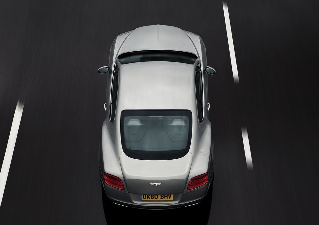 2012 Bentley Continental GT Top View  (Photo 32 of 32)