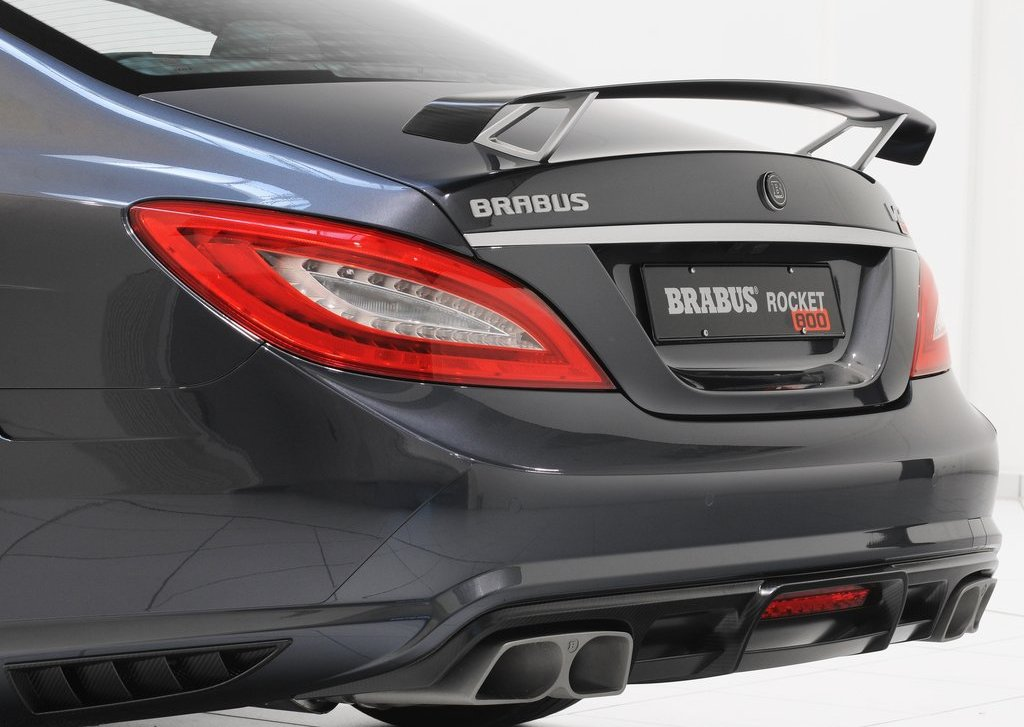 2012 Brabus Rocket 800 Back Bumper (Photo 2 of 20)