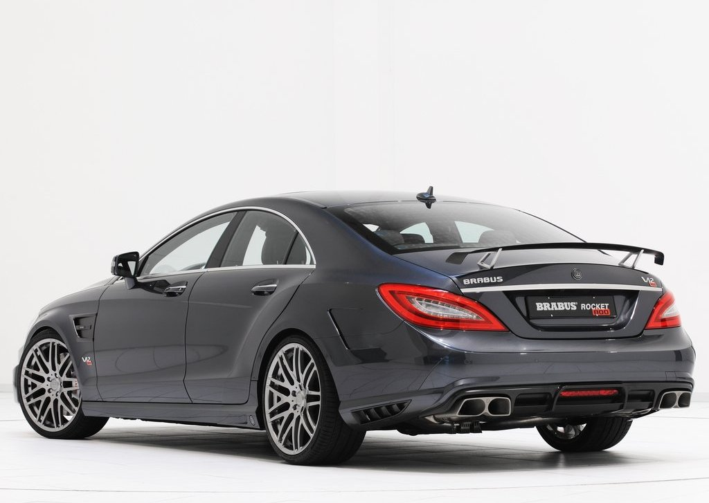 2012 Brabus Rocket 800 Rear Angle (Photo 15 of 20)