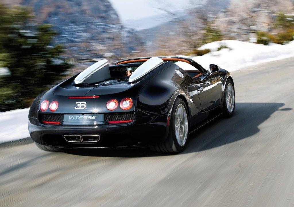 2012 Bugatti Veyron Grand Sport Vitesse Rear (Photo 2 of 2)