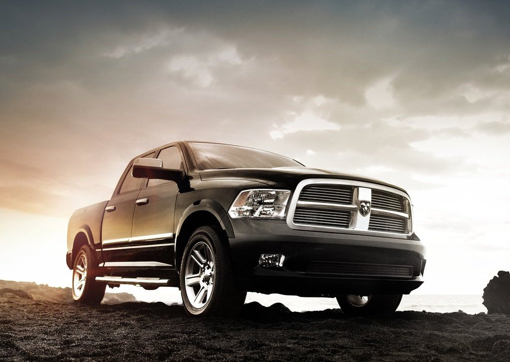 2012 Dodge Ram Laramie Limited Front Angle (Photo 3 of 5)