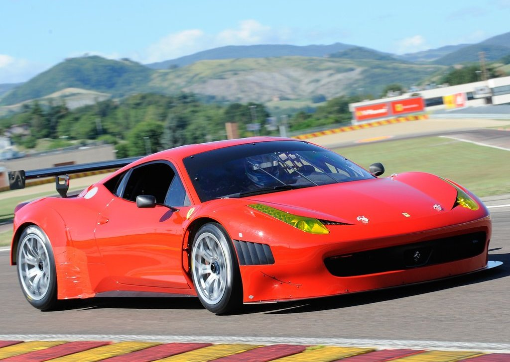 2012 Ferrari 458 Italia Grand AM Front (View 1 of 5)