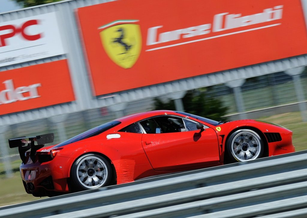 Featured Image of 2012 Ferrari 458 Italian Grand AM