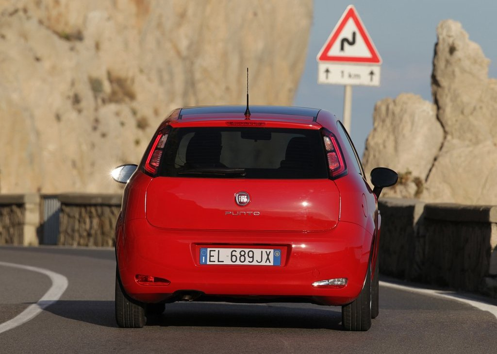 2012 Fiat Punto Rear (Photo 13 of 21)