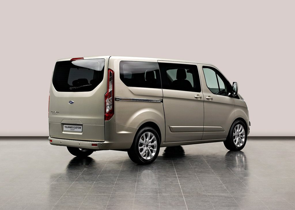 2012 Ford Tourneo Custom Concept Rear Angle (Photo 4 of 5)