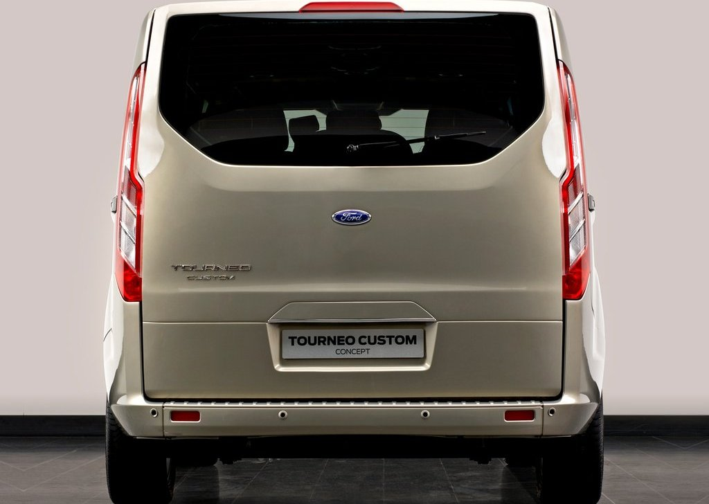 2012 Ford Tourneo Custom Concept Rear (Photo 4 of 5)