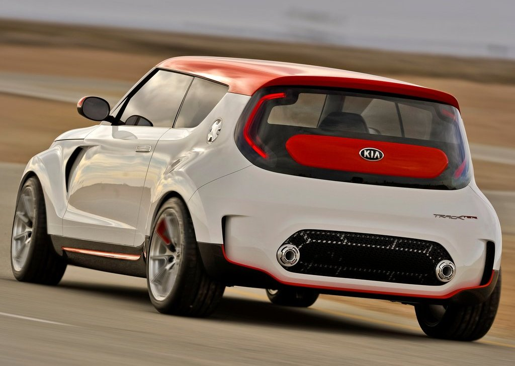 2012 Kia Trackster Concept Rear (Photo 4 of 5)