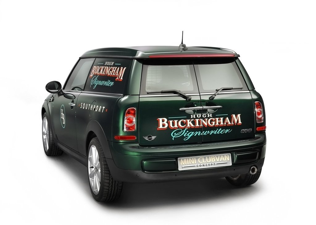 2012 Mini Clubvan Concept Rear Angle (Photo 6 of 16)