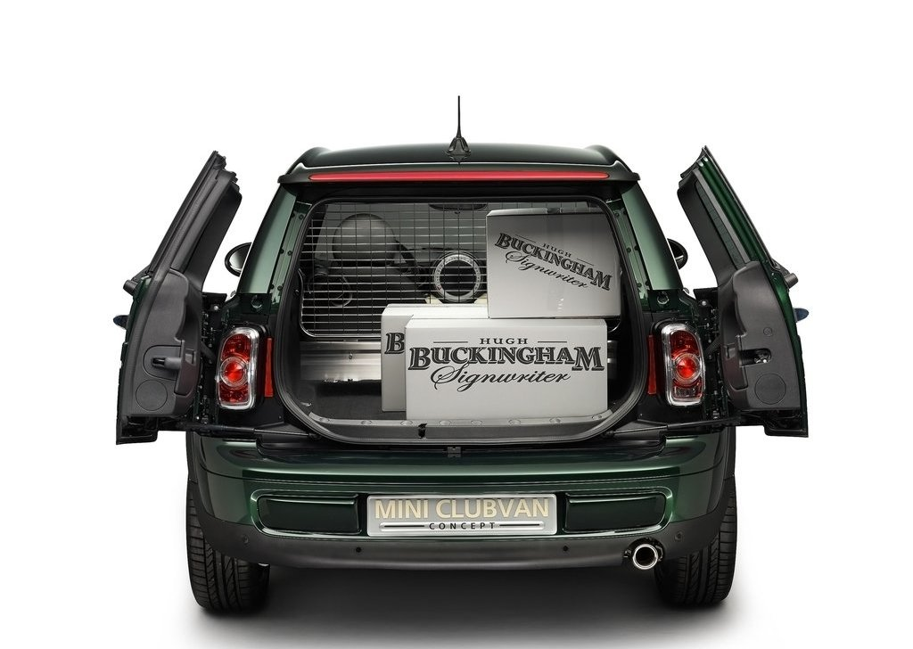 2012 Mini Clubvan Concept Trunk (Photo 11 of 16)