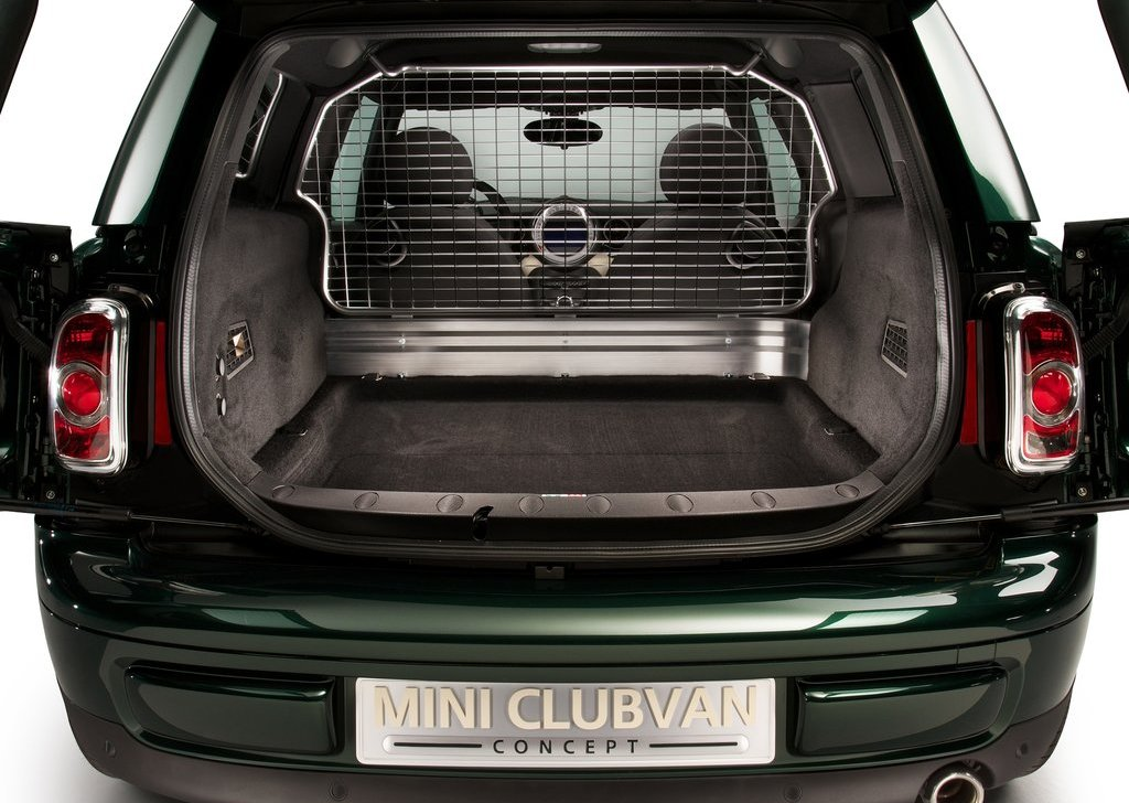 2012 Mini Clubvan Concept Trunk (Photo 16 of 16)
