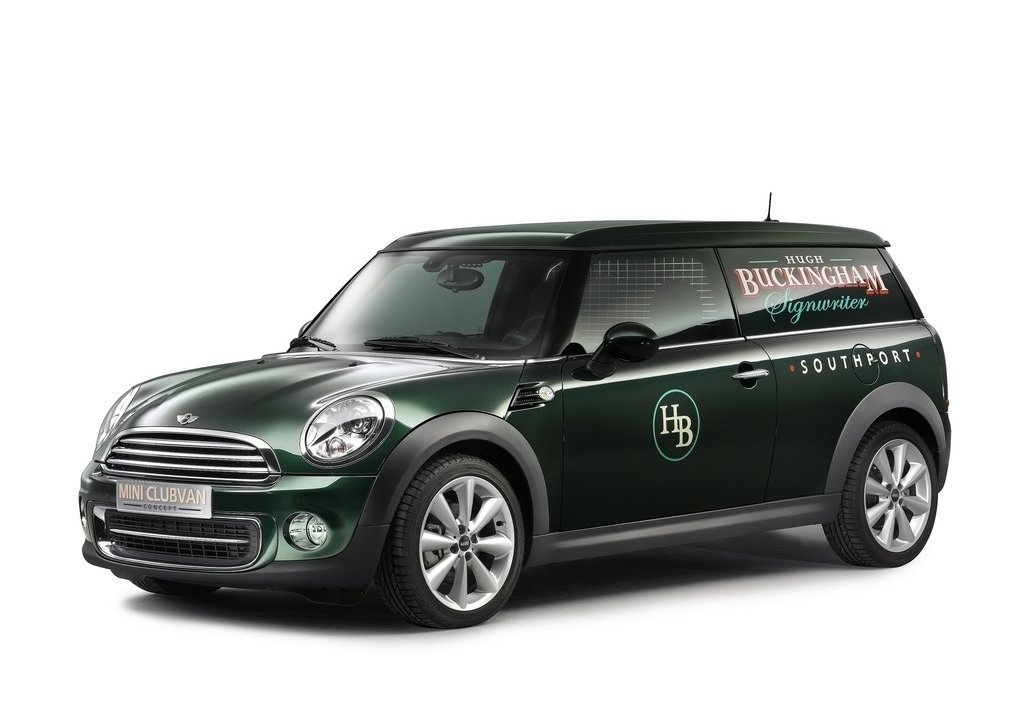 2012 Mini Clubvan Concept (Photo 1 of 16)