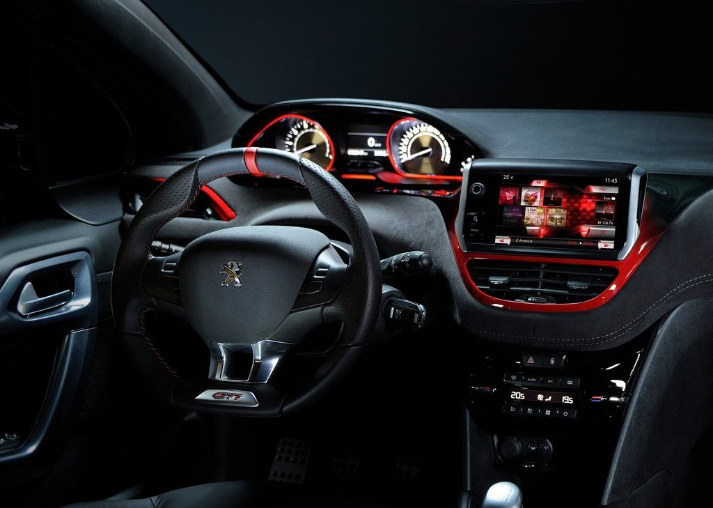 2012 Peugeot 208 GTi Concept Interior (Photo 10 of 14)