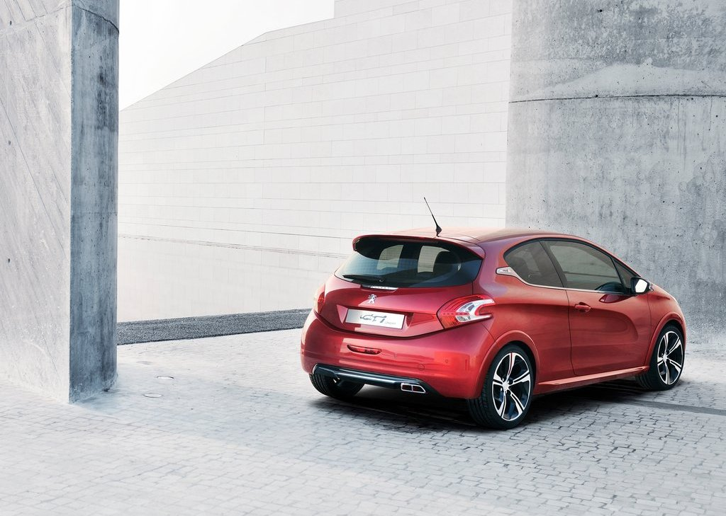 2012 Peugeot 208 GTi Concept Rear (Photo 12 of 14)