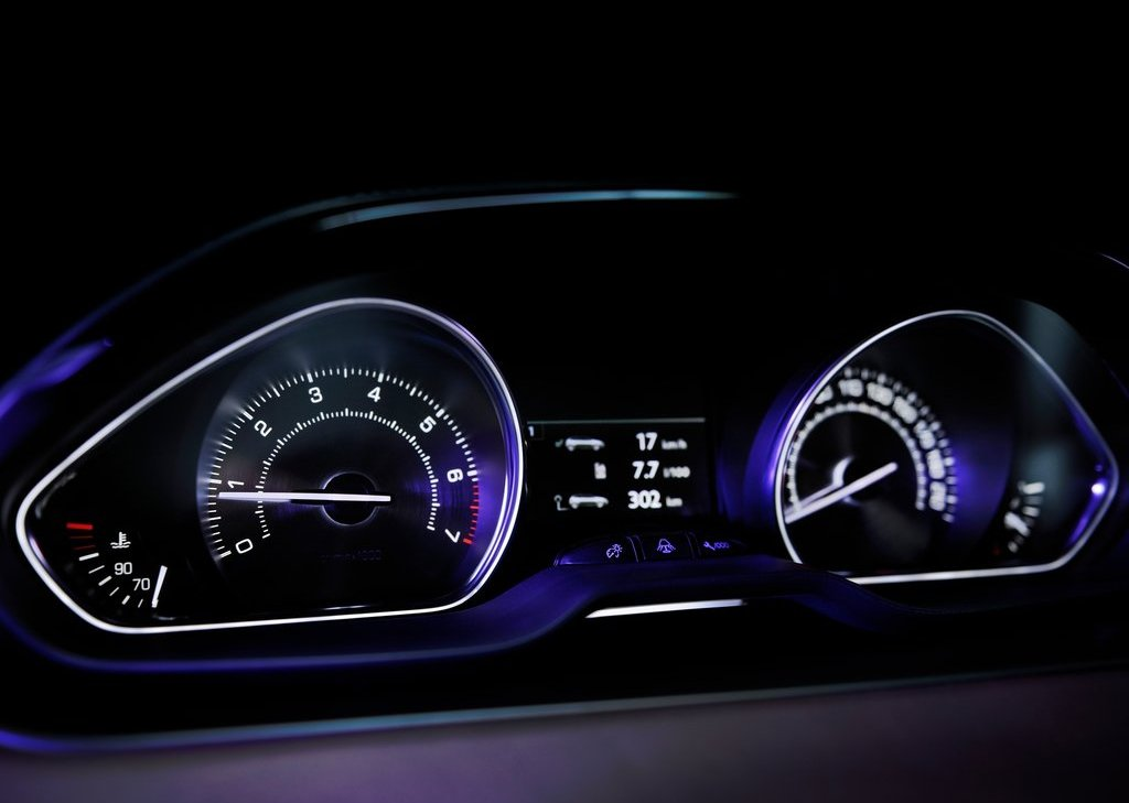 2012 Peugeot 208 XY Concept Speedometer (Photo 13 of 14)