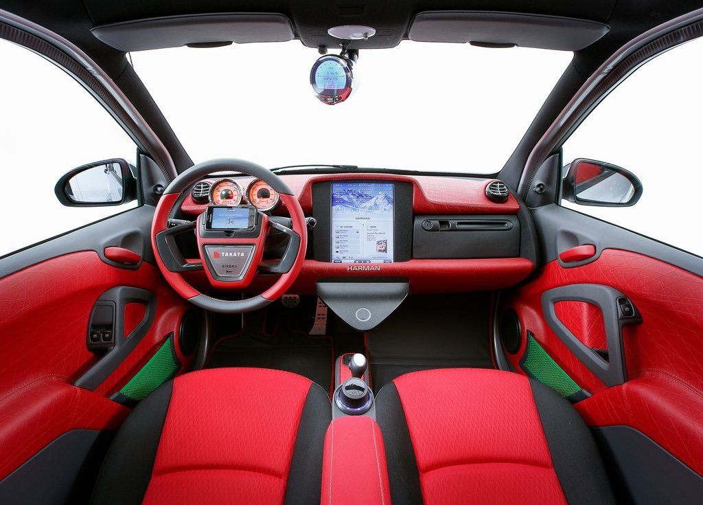 2012 Rinspeed Dock Go Concept Interior (View 6 of 23)