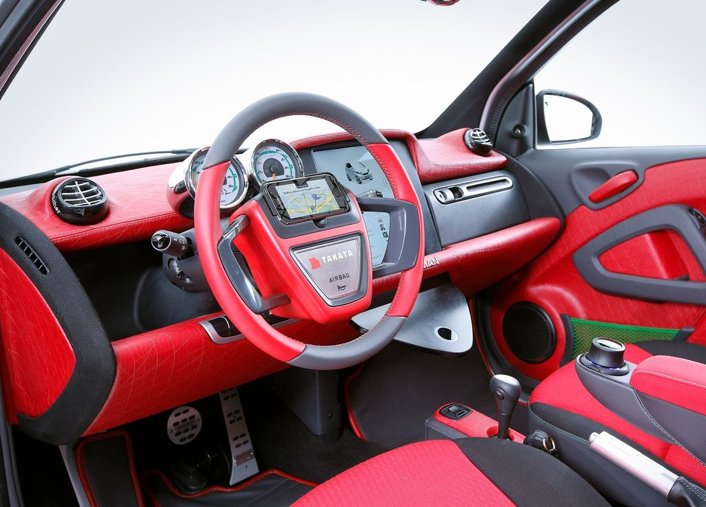 2012 Rinspeed Dock Go Concept Interior (View 11 of 23)