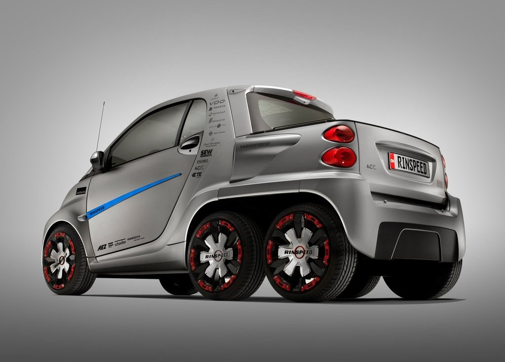2012 Rinspeed Dock Go Concept Rear (View 13 of 23)