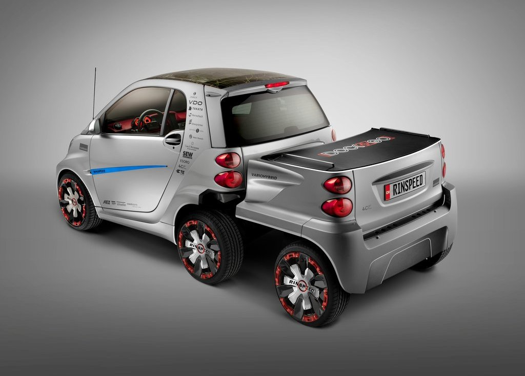 2012 Rinspeed Dock Go Concept Rear (View 14 of 23)