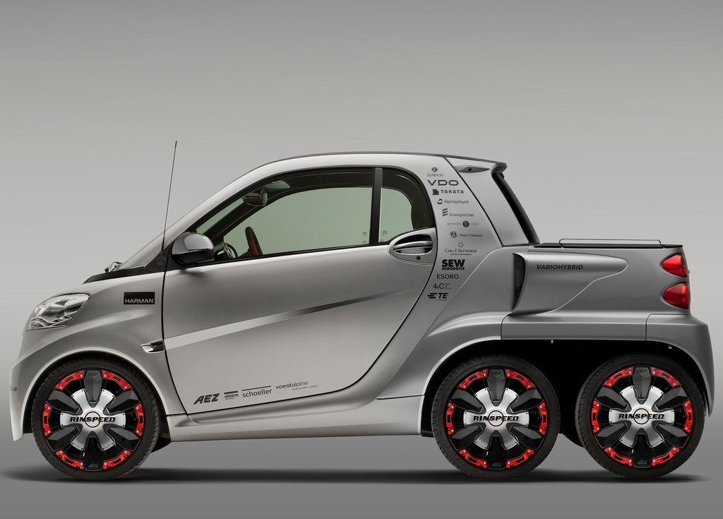 2012 Rinspeed Dock Go Concept Side (View 22 of 23)