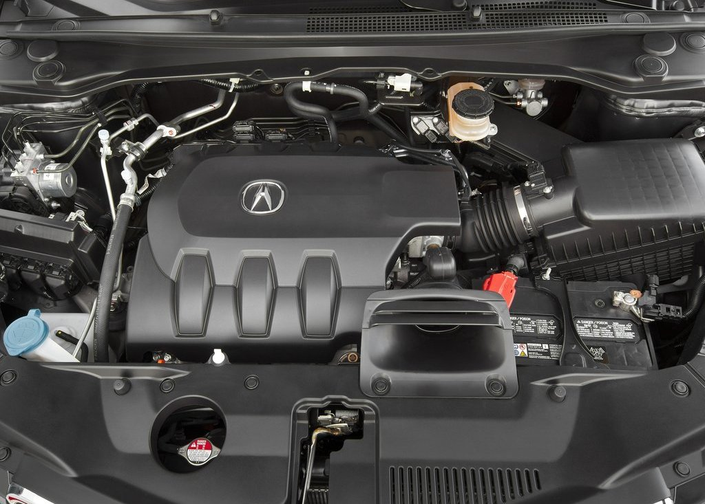 2013 Acura RDX Engine (Photo 4 of 10)