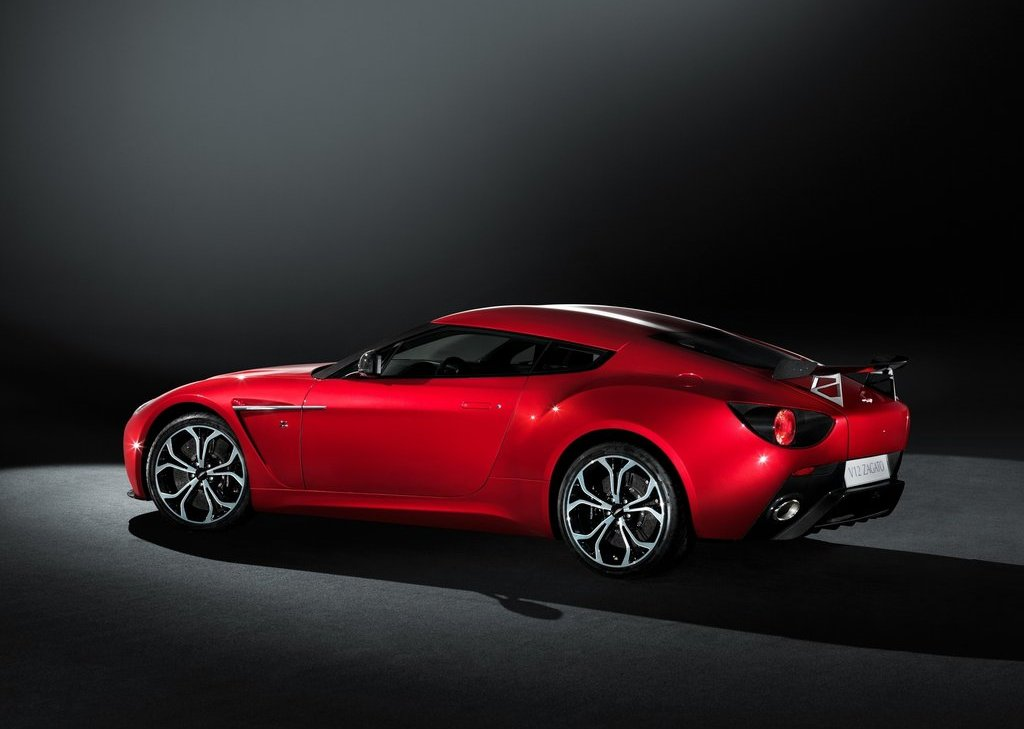 2013 Aston Martin V12 Zagato Rear (Photo 3 of 3)