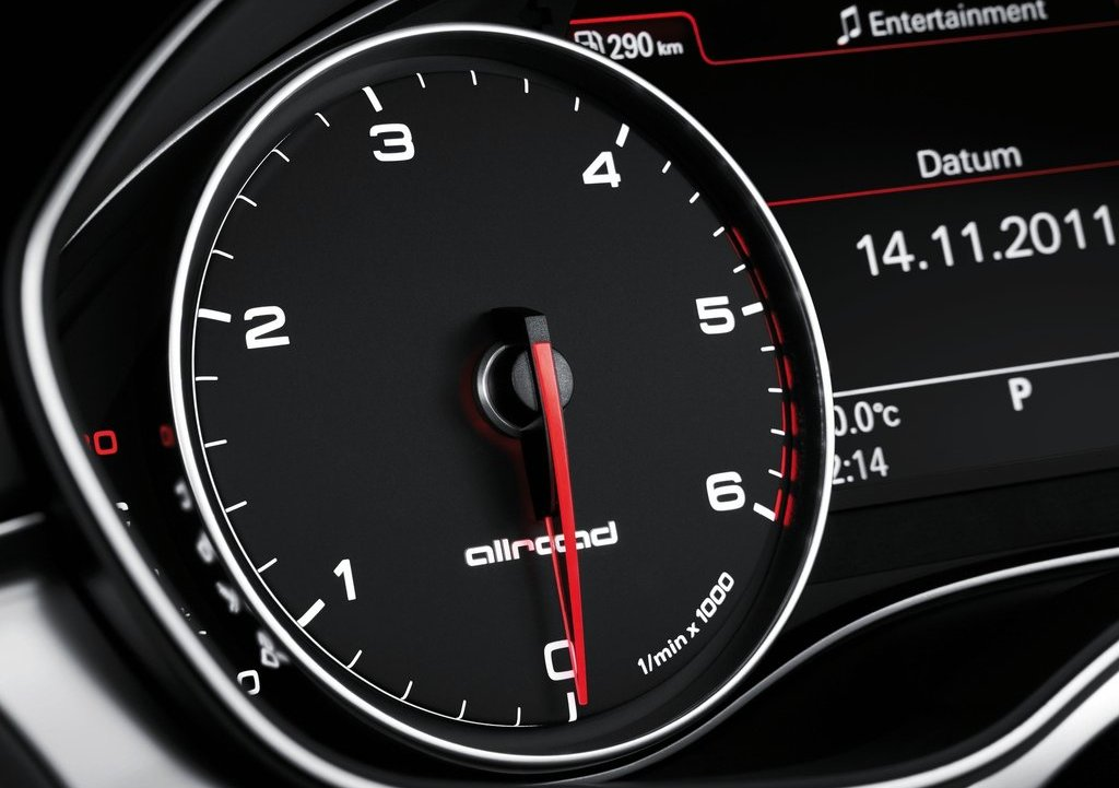 2013 Audi A6 Allroad Quattro Speedometer (Photo 22 of 25)