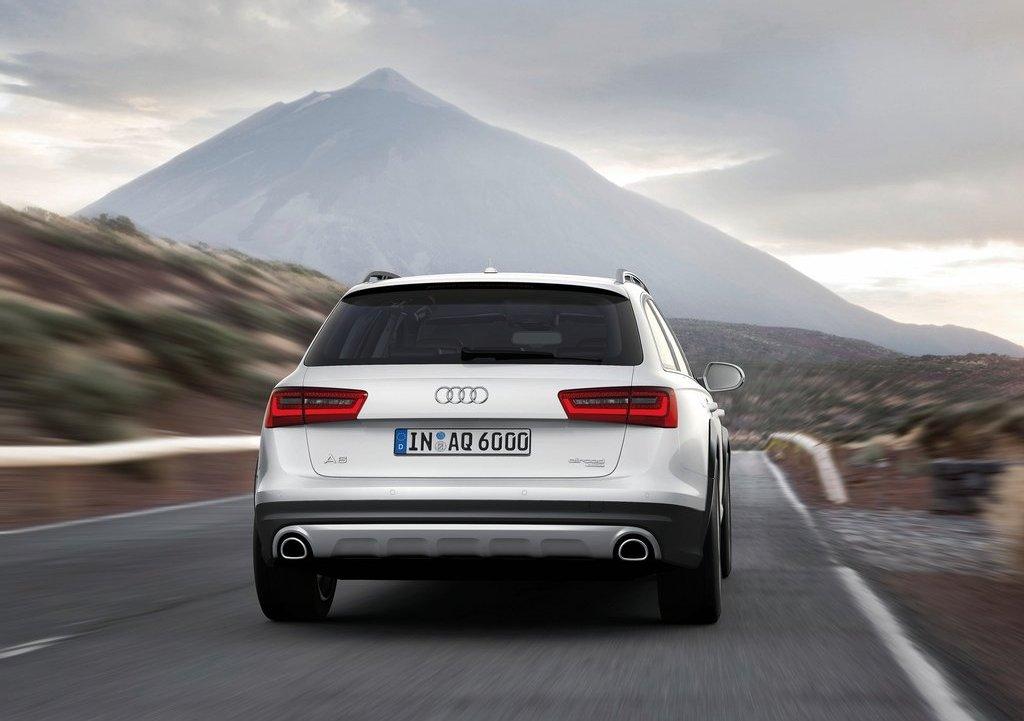 2013 Audi A6 Allroad Quattro Rear (View 17 of 25)