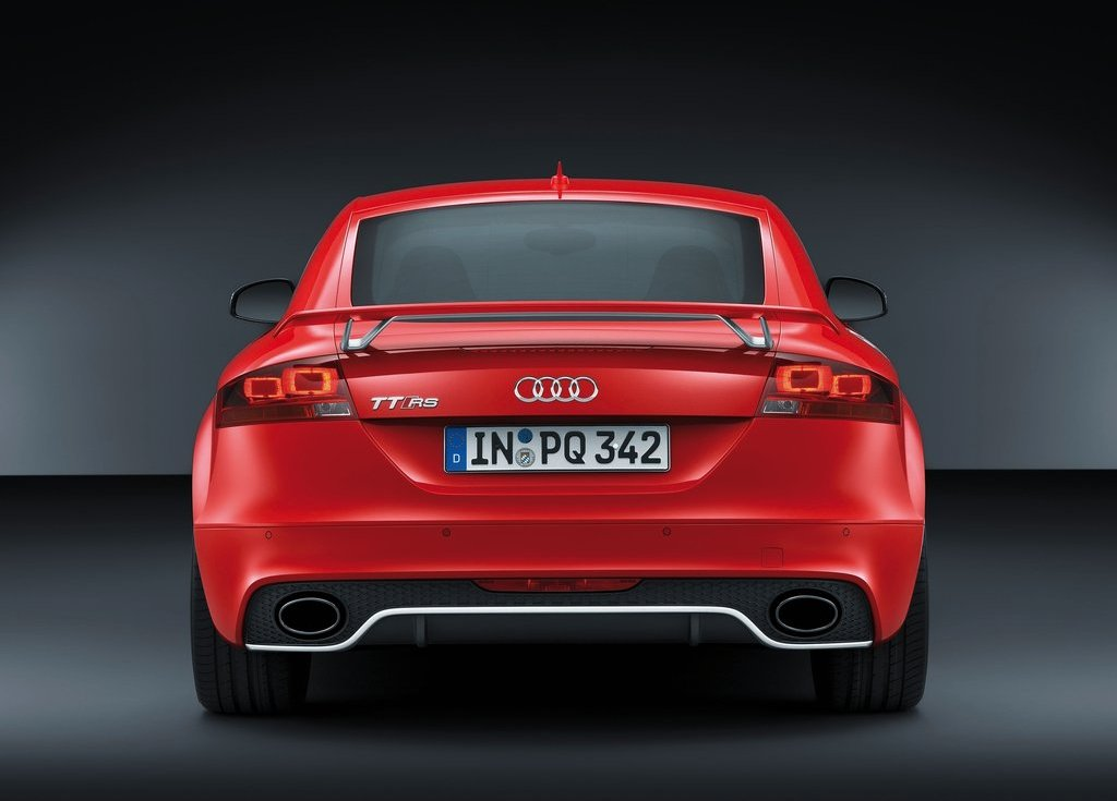2013 Audi TT RS Plus Rear (View 16 of 24)
