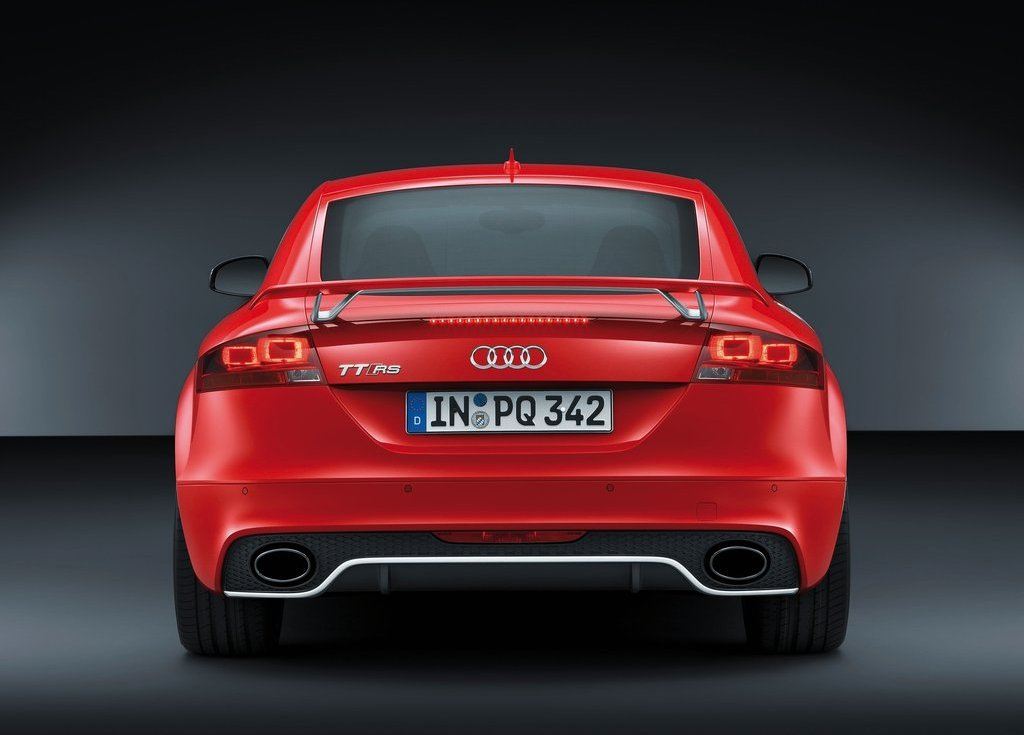 2013 Audi TT RS Plus Rear (View 13 of 24)