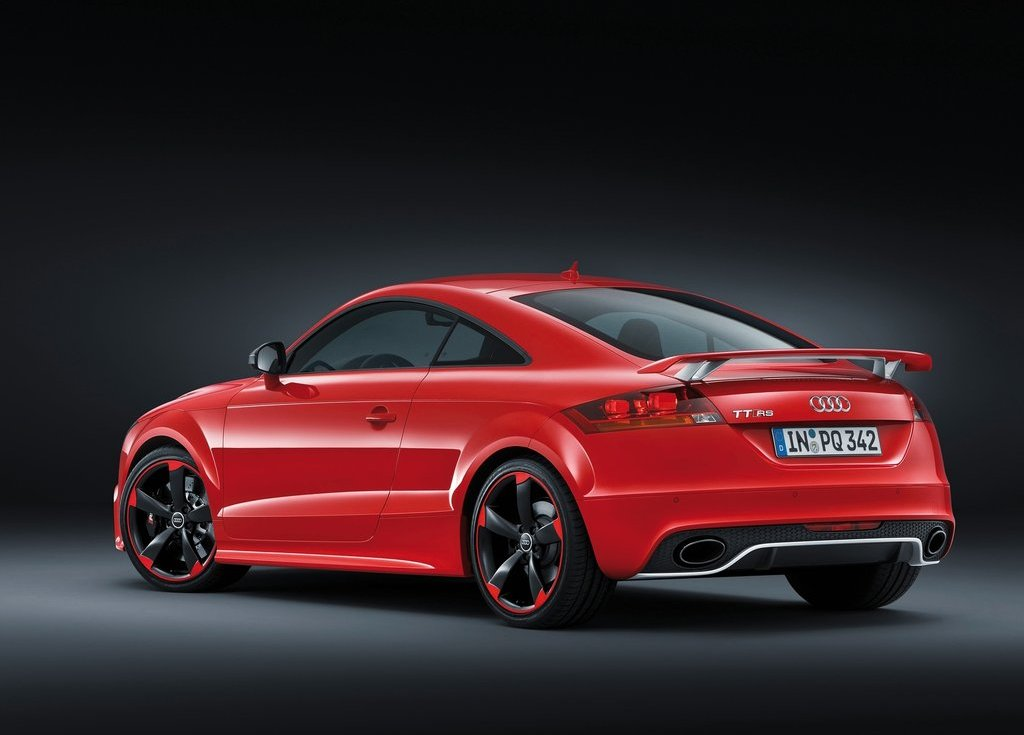 2013 Audi TT RS Plus Rear Angle (View 17 of 24)