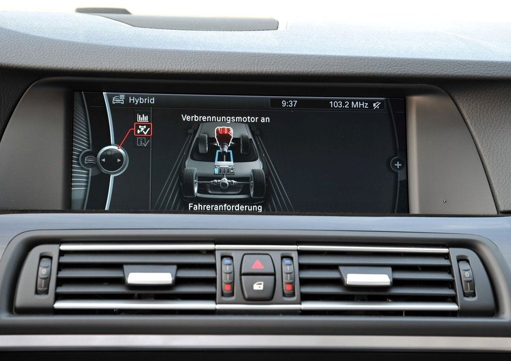 2013 BMW 5 ActiveHybrid Feature  (Photo 11 of 30)